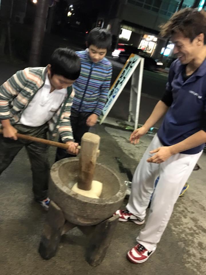 大垣餅つき2